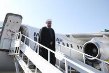 رییس جمهور وارد مشهد شد/ قائممقام رئیسی به استقبال روحانی رفت