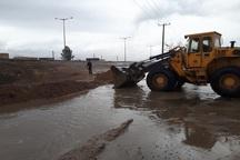 رفع آبگرفتگی معابر شهری قاین با 60 نیروی خدماتی شهرداری انجام شد
