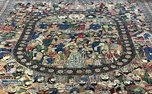 فرش مشاهیر در کاخ نیاوران+ عکس