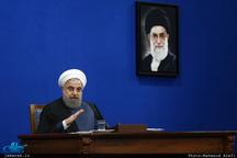 رییس جمهور روحانی: قرار نیست با تخریب و شعارهای عده ای از میدان خدمت خارج شویم