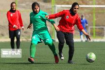 تیم فوتبال بانوان زاگرس شیراز مقابل همیاری ارومیه شکست خورد