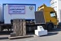 کانکس های دومنظوره خورشیدی و گازی اهدایی جهاددانشگاهی آذربایجان غربی به مناطق زلزله زده کرمانشاه ارسال شد