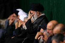 مراسم عزاداری شام غریبان اباعبدالله الحسین (ع) در حسینیه امام خمینی برگزار شد