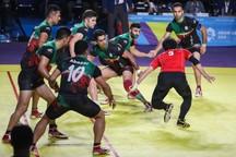 چهارمین پیروزی مردان کبدی در دور گروهی