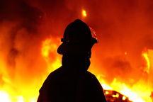 ۲ کارگر از حریق ساختمان در دست ساخت در مشهد نجات یافتند