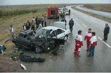 گردش به چپ ناگهانی، سبب مرگ راننده پراید شد