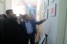 افتتاح نمایشگاه اسناد بلدیه در شهرداری رشت