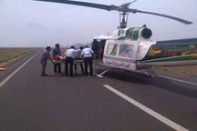 اورژانس هوایی سبزوار جان پنج نفر را نجات داد
