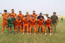 تیم فوتبال شهرداری بندرعباس در خانه به سردار بوکان باخت