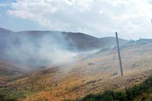 آتش سوزی مراتع سمیرم را تهدید می کند