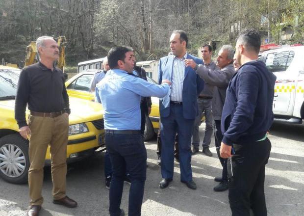 جانمایی پایانه حمل و نقل در شهر ماسوله