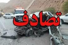 تصادف زنجیرهای با ۱۴ کشته و مصدوم در محور اصفهان- الیگودرز
