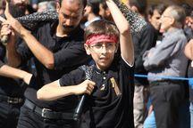 فریاد یاحسین در میدان امام حسین پایتخت طنین انداز شد