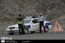تاکید پلیس راه بر رعایت قوانین رانندگی در سفرهای تابستانی