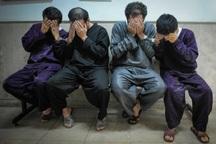 سارقان محتویات خودرو با 28 فقره سرقت در اهواز دستگیر شدند