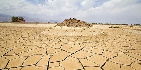 ۸۵ درصد از جمعیت ایران تحت تاثیر خشکسالی