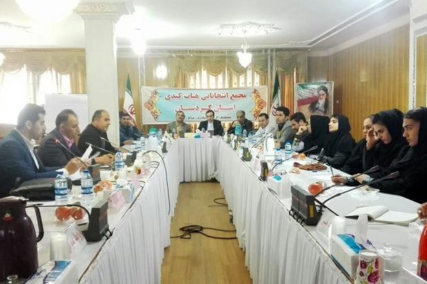 رفیق رضاقلی رئیس هیات کبدی استان کردستان باقی ماند
