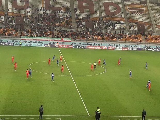 تیم فولاد خوزستان مقابل گلگهر به برتری رسید