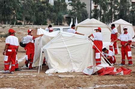 نتیجه تصویری برای ارسال چادر برای زلزله زدگان