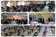 آزمون ورودی به مدارس نمونه دولتی شرق استان تهران برگزار شد