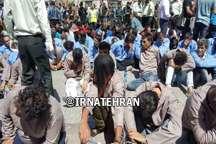 دستگیری 700 نفر از توزیع کنندگان موادمخدر و اراذل و اوباش پایتخت
