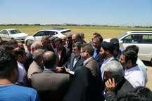 استاندار قزوین از چند طرح عمرانی خدماتی در شهرستان البرز بازدید کرد