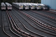 تصادف قطار در پنسیلوانیا+ تصاویر