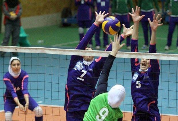 والیبال بانوان زنجان برای قهرمانی کشور خیز برداشته است