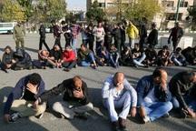 181 سارق در طرح نوروزی پلیس قزوین دستگیر شدند