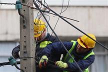 برق 15 روستای شوش چهار ساعت قطع شد