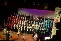 دومین شب جشنواره موسیقی فجر در گرگان برگزار شد