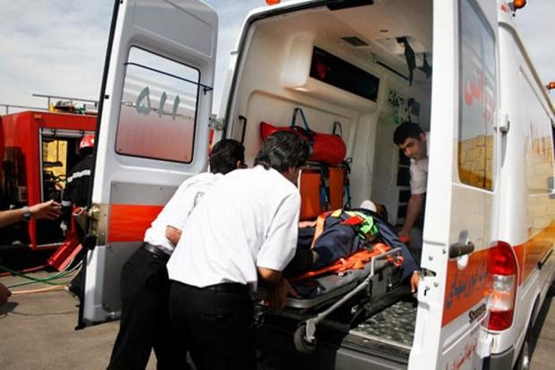 سه تن بر اثر آتش سوزی جایگاه ال پی جی در قم مصدوم شدند
