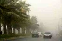 وزش تند باد و گرد و خاک در برخی مناطق استان خراسان جنوبی