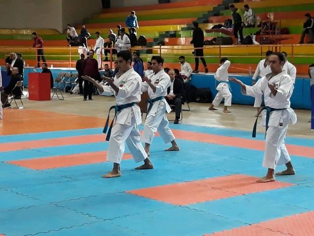 کارگران یزد قهرمان مسابقات کاراته کشور شدند