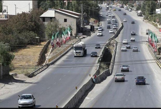 جاده قدیم تهران- شمال در محدوده پردیس اصلاح هندسی میشود