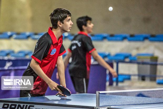 ۸۰ نوآموز تنیس روی میز در بافق فعالیت دارند