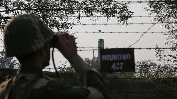 درگیری مرزی میان هند و پاکستان