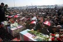 پیکر 2 شهید دفاع مقدس به وطن بازگشت
