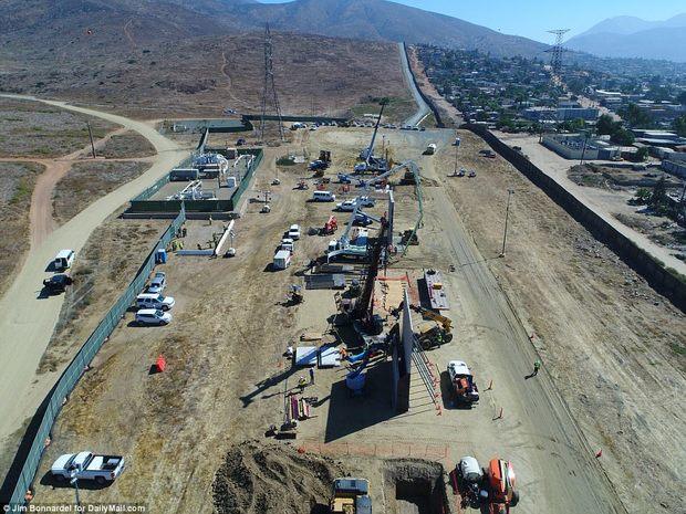 دیوار مکزیک آمریکا