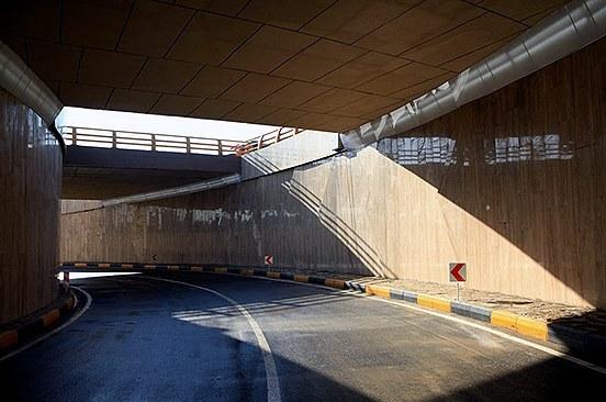 زیرگذر یساقی در جاده گرگان - کردکوی افتتاح شد