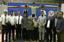 وزنه بردار نوجوان مراغه ای قهرمان دسته 56 کیلوگرم کشور شد