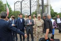 جمهوری آذربایجان 15 ایرانی زندانی را از مرز آستارا تحویل داد