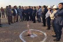عملیات اجرایی تقاطع غیرهمسطح ورودی شهرک چاپ و نشر قم آغاز شد