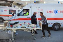 انفجار سیلندر گاز در زاهدان یک مصدوم برجا گذاشت