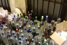 یک کانتینر مشروبات الکلی در هرمزگان کشف شد