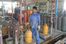 2567 سیلندر گاز غیراستاندارد در قزوین جمع آوری شد