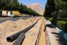 8700 متر شبکه آبرسانی شیروان اصلاح شد
