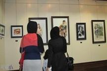 تصاویر   برپایی نمایشگاه گروهی نقاشی «مهفام» در لاهیجان