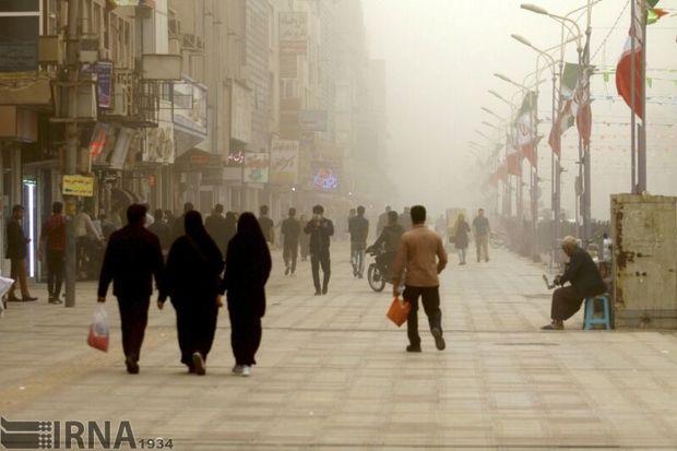 غلظت آلایندههای هوا در خراسان رضوی تا سهشنبه ادامه دارد