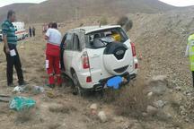 واژگونی خودرو در قوچان 6 مصدوم به جا گذاشت